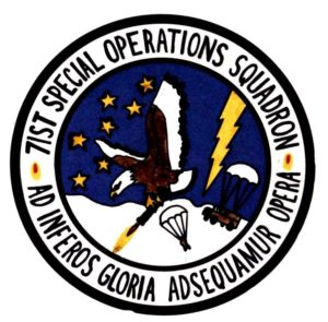 71st Special Operations Squadron patch