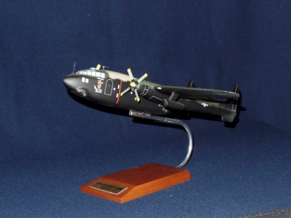 AC-119K Plane Model with Stand