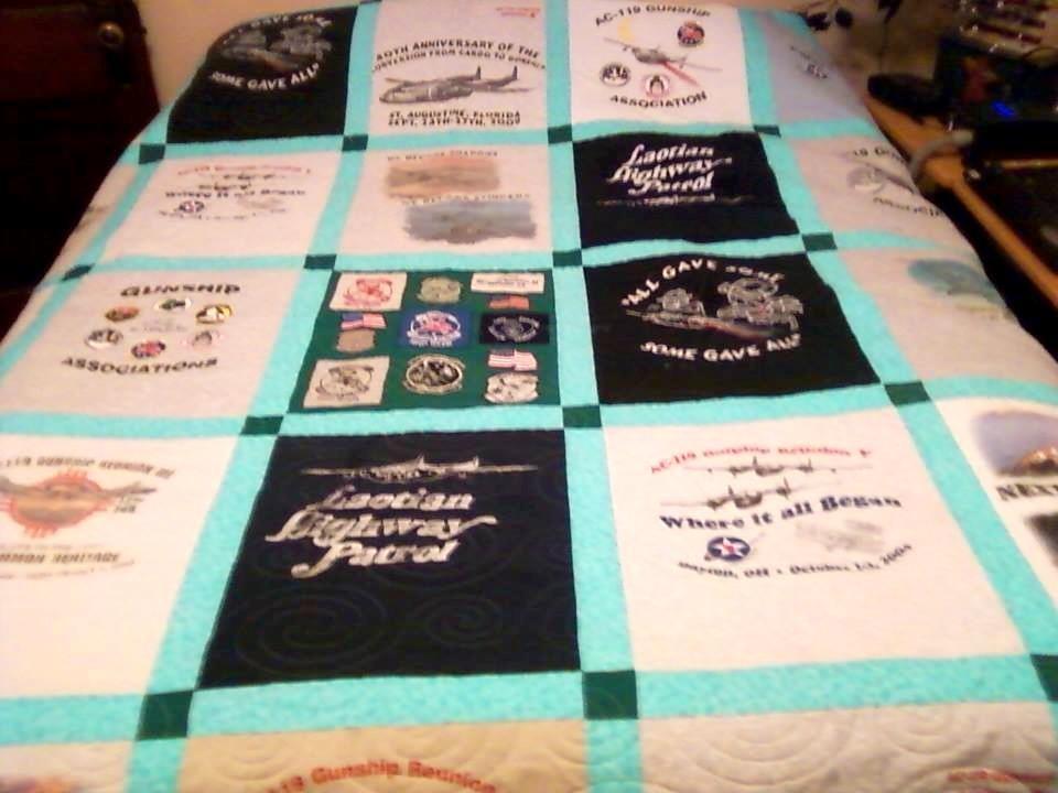 AC119 shirt quilt
