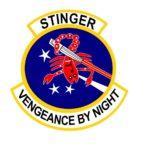 18th SOS Stinger- Vengeance by Night Logo – Jim Mattison