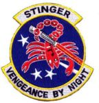 18th SOS Stinger – Vengeance by Night Patch