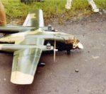 1972 NKP AC119K Model After Crash