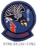 819th Vietnamese AC119K Patch