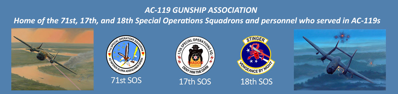 AC-119 Gunship Association Web Banner