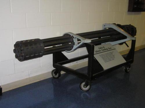 2005 FWB, FL Reunion - Museum - 30mm Gatling Gun
