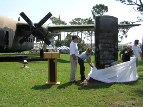 2005 FWB, FL Reunion - Museum - 119K Gunship Memorial Unveiling