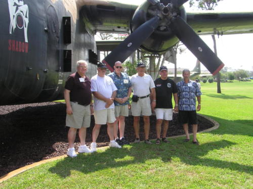 2005 FWB, FL Reunion - Museum - Thompson, John Morrow, Dave Voisey, Mike Drzyzga, Norm Evans, and Bill Zito