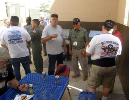 2012 FWB, FL Reunion - John Morrow, Larry Fletcher, and others at Lunch