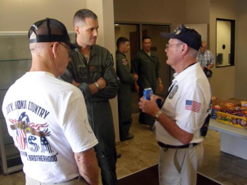 2012 FWB, FL Reunion - Ralph Lefarth, Col Hubbie, and Ron Hinton