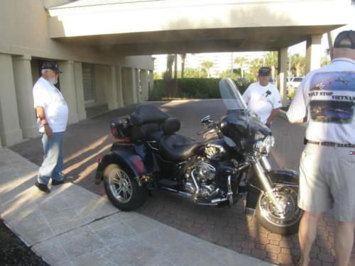 2012 FWB, FL Reunion - Mike Mullen with Stinger Trike