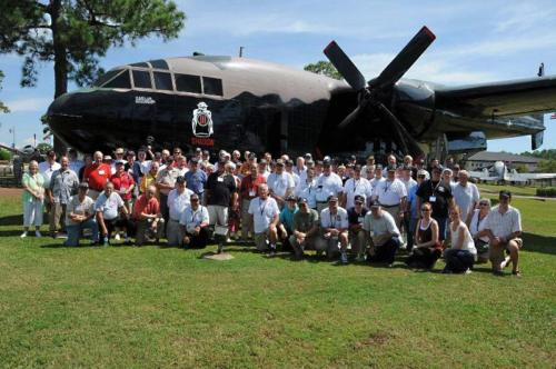 2012 FWB, FL Reunion - Group Picture with AC-119 Plane
