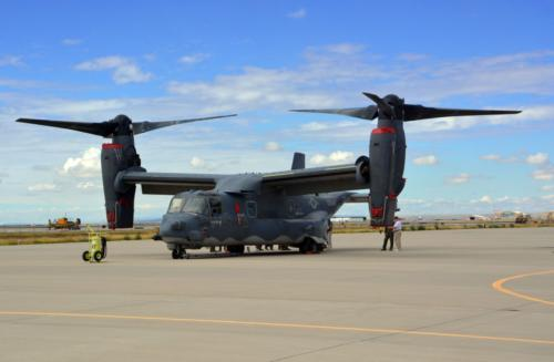 2014 ABQ Reunion -CV-22 Osprey