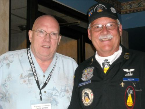 2014 ABQ Reunion- Shadow Gunners Dave Voisey and Mike Drzyzga