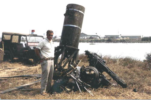 20mm Gun and Cannister