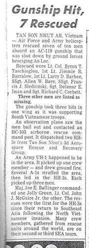 Seven Rescued