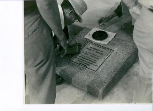 John O'Neal Rucker's DaNang Memorial Inscription